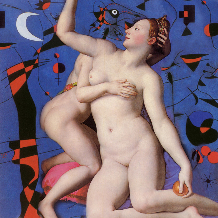 Agnolo Bronzino & Joan Miró