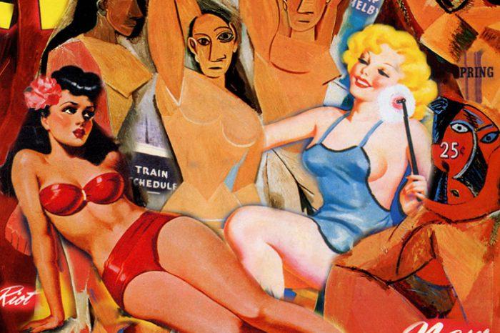 Peter Driben y Pablo Picasso